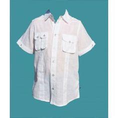 Chemise Blanche - manches courtes - vêtement garçons