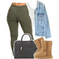 Falsetto by kiaratee on Polyvore featuring Topshop, Levi's, UGG Australia and Balmain
