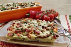 m.bucataras.ro Bruschetta, Paste, Vegetable Pizza, Bacon, Cooking Recipes, Vegetables, Ethnic Recipes, Chef Recipes, Vegetable Recipes