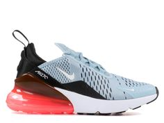 82e23e769cc33 Nike Air Max 270 QS Chaussure Sportswear Pas Cher Pour Femme Enfant Noir  bleu blanc