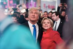 Just three days before the election, 'Saturday Night Live' opened with a sketch that saw the actors who play Donald Trump and Hillary Clinton come together for the greater good.