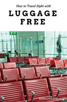 Wouldn't it be nice if you could pack your bags and forget about them? With this baggage transport service, its' easy to do. Here's how to travel light with Luggage Free.