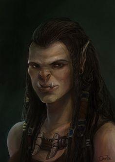 ArtStation - Draka- Warcraft, Jowie Lim