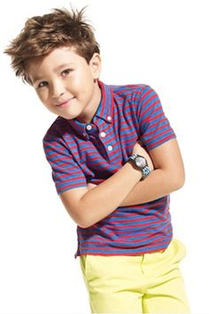 10 Fall Hairstyles For Boys. Shaggy top.