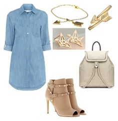 """""""My fair lady"""" by walkeralexzandreia ❤ liked on Polyvore featuring Seafolly, Valentino, House of Harlow 1960 and Bling Jewelry"""