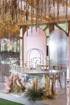 СВАДЬБА «GARDEN REFLECTION» Wedding Flower Arrangements, Flower Bouquet Wedding, Wedding Centerpieces, Wedding Decorations, Tall Centerpiece, Bridal Bouquets, Floral Arrangements, Wedding Reception Design, Wedding Events