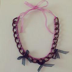 necklace collar collares shuuforyou fashion design moda accessories bisuteria bijoux jewelry accesorios style beautiful eshop blogger vintage retro pink lace