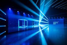 Online Broadcasting, Conference Branding, Concert Lights, Dance Numbers, Game Engine, Stage Design, Behance, Branding Design, Digital