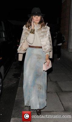 Olivia Palermo, Matthew Williamson, London Fashion Week