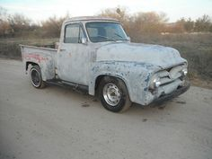 Ford F100 1953 stepside rat