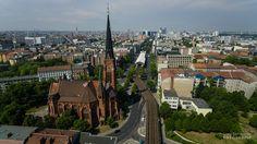 Luftbildaufnahme: Berlin Schöneberg