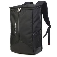 31.11$  Buy here - http://aliklg.shopchina.info/go.php?t=32476787321 - Brand Black Minimalist Shoulder Bags Men Leisure Travel Large Capacity Backpack Laptop Bucket Backpack for 16inch Computer  #magazine