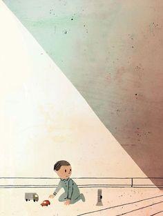 The Dark: Lemony Snicket, Jon Klassen Jon Klassen, Kitty Crowther, Children's Book Illustration, Book Illustrations, Cartoon Design, Book Design, Art Inspo, The Darkest, Art Drawings