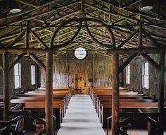 I want to live in a church, and I want it to be this one.  All Saints Episcopal Church, Linville, NC