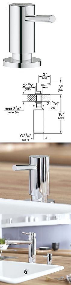 Soap Dispensers-Mounted 121847: Cosmopolitan Soap Lotion Dispenser Chrome -> BUY IT NOW ONLY: $47.67 on eBay!