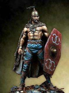 Celt/Gaulic warrior