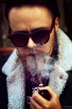 Mustache Smoke