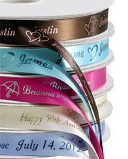 Design Your Own Elegant Satin Ribbon