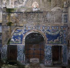 House Of The Deer, Herculaneum. Check out our post about about Southern Italy: http://travelwithmk.com