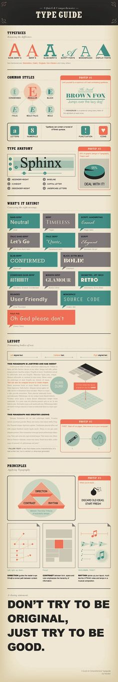 My FAVORITE PIN in a while :) Guide To Typefaces With Life Quotes In Creative Typography   Wedding Photography Design