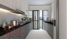 HDB 5-Room BTO @ Blk 416B Fernvale Riverbow - Interior Design Singapore