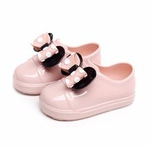 043cb10ec7cc Mini Melissa Girls sandals Jelly Shoes Autumn Children Soft Comfort Princess  Shoes Girls Sandals Kids Sandals