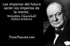 Frases de Winston Churchill - Frases de Mente - Frase Famosa