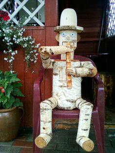 30 Ideas wood carving ideas logs yards for 2019