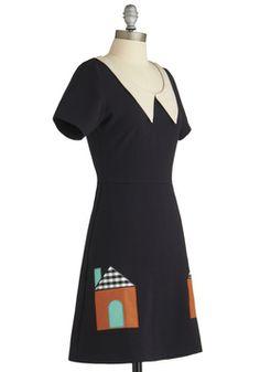 Won't You Be My Neighborhood? Dress, #ModCloth