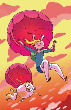 No Sweater Is Safe In The 'Aventure Time With Fionna & Cake' #1 Backup [Preview] - ComicsAlliance | Comic book culture, news, humor, commentary, and reviews