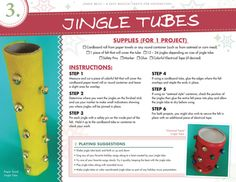 Christmas Music Craft! Awesomely easy jingle bell fun!