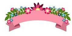 Ribbon Png, Ribbon Banner, Ribbon Cake, Flamingo Birthday, Flamingo Party, Bolo Super Man, Flamingo Png, Leaf Template Printable, Binder Cover Templates