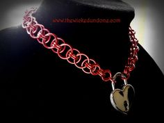 """Submissive Collar """"Valentine's Day Edition"""" by The Wicked Undone"""