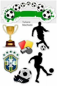 Soccer Birthday Parties, Football Birthday, Football Awards, Football Themes, Baseball Party, Soccer Party, Hibiscus Clip Art, Cake Logo Design, Soccer Theme