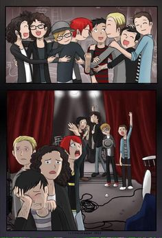 Fall Out Boy and My Chemical Romance. I'm crying