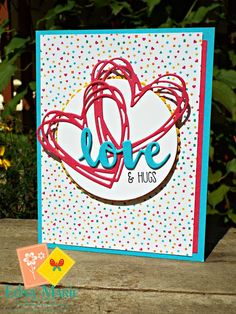 Saying Love! Happy Friday Inkers! Well I just love a Friday! so much fun on the…