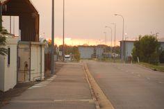 Nikon D3s Lense 18-200mm Sunrise at Lavarack Barracks QLD