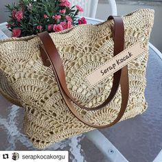 New Trends Storys Crochet Tote, Crochet Handbags, Crochet Purses, Crochet Yarn, Summer Tote Bags, Yarn Bag, Quilted Bag, Knitted Bags, Crochet Accessories