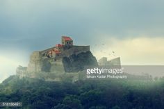Rupea fortress, fortification on a hill, Brasov, Transylvania,... #brasov: Rupea fortress, fortification on a hill, Brasov,… #brasov