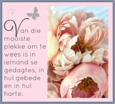 Birthday Wishes Flowers, Bible Journaling For Beginners, Morning Qoutes, Afrikaanse Quotes, Goeie Nag, Goeie More, Inspirational Qoutes, Friendship Quotes, Deep Thoughts