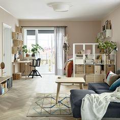 Kallax Open Kast Ikea Ikeanederland Inspiratie Wooninspiratie Woonkamer Hal Opberger Vakkenkast Studio Apartment