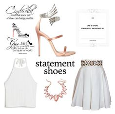 """Statement shoes"" by gatorwho ❤ liked on Polyvore featuring Monki, Balizza, Giuseppe Zanotti and Thalia Sodi"