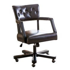 Found it at Wayfair.ca - Ballinderry Leather Desk Chair