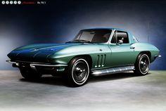 Chevrolet Corvette Sting Ray Coupe, 1966