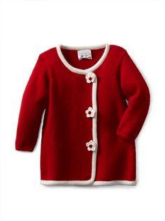 64% OFF Portolano Baby Sweater Coat (Cherry Red/White) #apparel #Kids