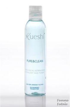 Kueshi  Για Μικτά - Λιπαρά 200ml.Στυπτική λοσιόν καθαρισμού η οποία εξισορροπεί την λιπαρότητα στις προβληματικές περιοχές του προσώπου. Ενυδατώνει και απαλύνει το δέρμα στα σημεία που χρειάζεται. Περιέχει οινόπνευμα το οποίο προσφέρει φρεσκάδα και τόνωση σε βάθος. Ιδανική για μικτές και λιπαρές επιδερμίδες.Χρήση: εμποτίζετε λίγο βαμβάκι με τη λοσιόν και το περνάτε ταμποναριστά σε όλο το πρόσωπο. Δεν ξεβγάζεται.Τιμή €8.50 Vodka Bottle, Water Bottle, Toner For Face, Shampoo, Cleaning, Cosmetics, Pure Products, Water Flask, Water Bottles