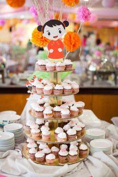 Modern Asian Themed 1st Birthday Party with Lots of Cute Ideas via Kara's Party Ideas | KarasPartyIdeas.com #Asian #Mulan #Party #Ideas #Supplies (9)
