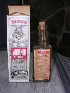 Laudanum Bottle and Box