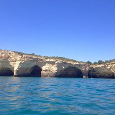 Algarve's coast and caves.