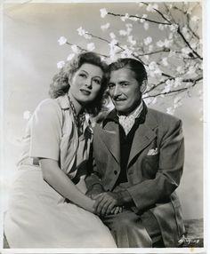 Greer Garson and Ronald Colman Beautiful Vintage 8x10 BW Photo | eBay
